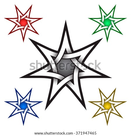 seven pointed star stock images royalty free images vectors shutterstock. Black Bedroom Furniture Sets. Home Design Ideas