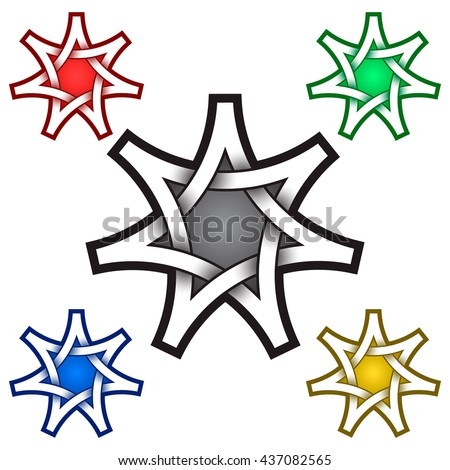seven point star stock images royalty free images vectors shutterstock. Black Bedroom Furniture Sets. Home Design Ideas