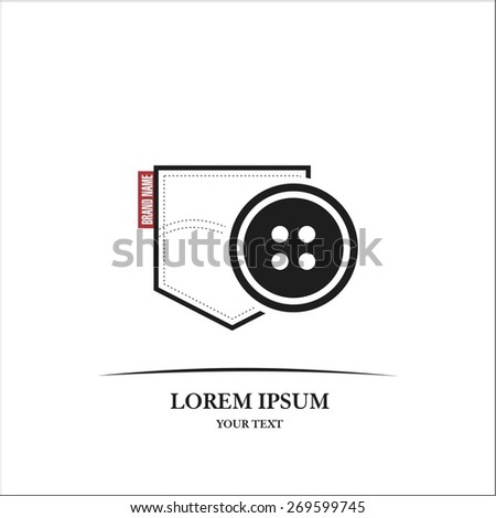 Sewing and repair clothes - stock vector