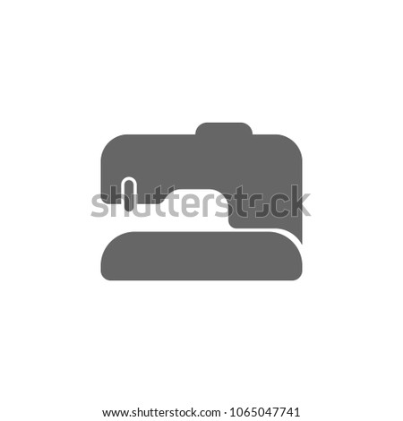 Sewing Machine Icon Simple Element Illustration Stock Vector