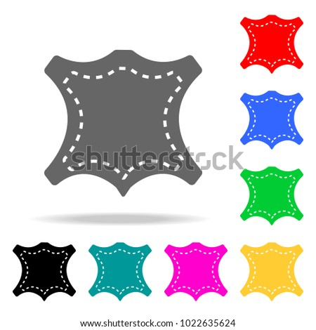 Sewing Pattern Icon Element Sewing Multi Stock Vector 1022635624 ...