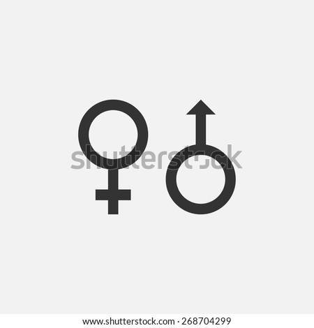 sex icon - stock vector