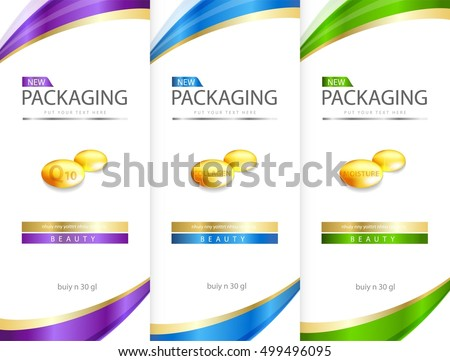 cosmetic label stock images royalty free images vectors shutterstock. Black Bedroom Furniture Sets. Home Design Ideas