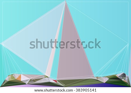 shape geometry abstract style color graphic illustration