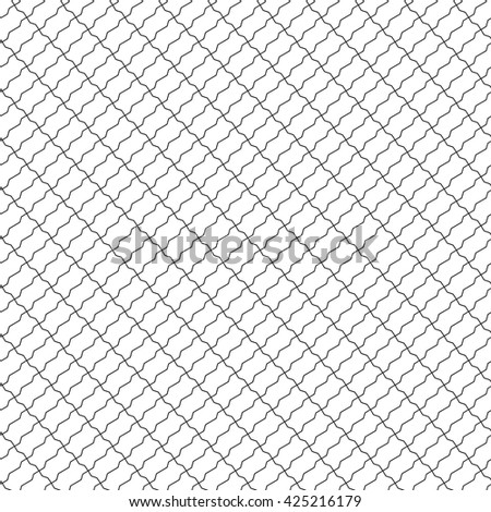 shaped bricks seamless diagonal pattern. Vector illustration. EPS 10.