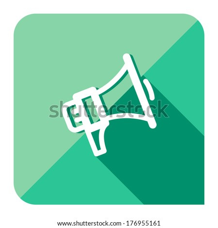 share or spread news icon - stock vector