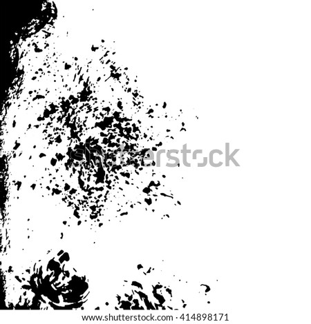 Sheets of old crumpled paper set, crumpled paper texture, vector - stock vector