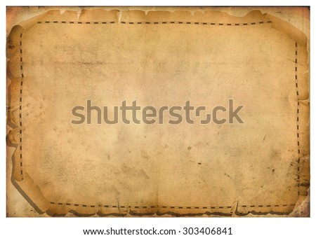 sheets of parchment - stock vector