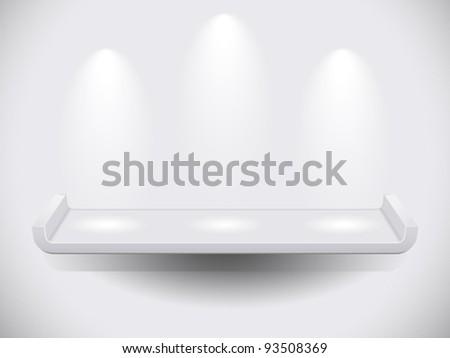 Shelf - stock vector