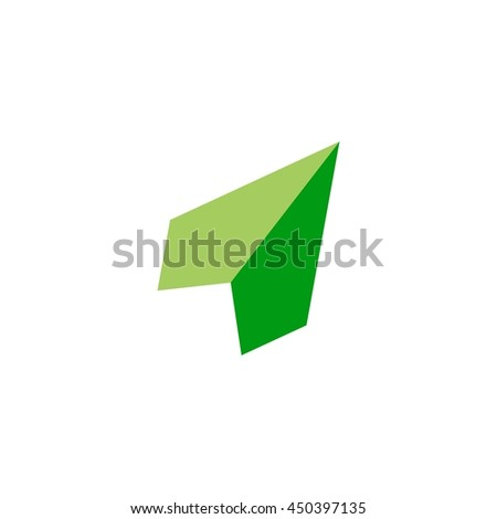 shield paper airplan logo vector