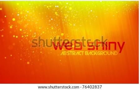 Shiny background - stock vector