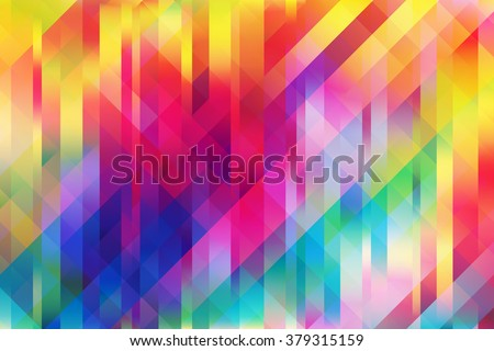 Shiny colorful mesh background with polygonal shapes - stock vector