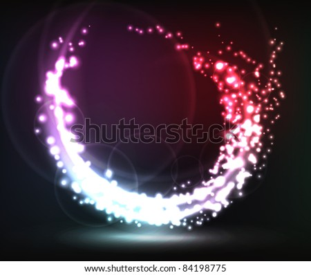 Shiny eps10 background - stock vector