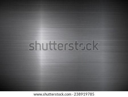 Shiny metal texture background, rectangle style. A vector illustration. - stock vector