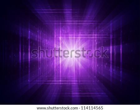 Shiny purple vector background - stock vector