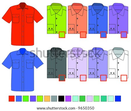shirt - stock vector