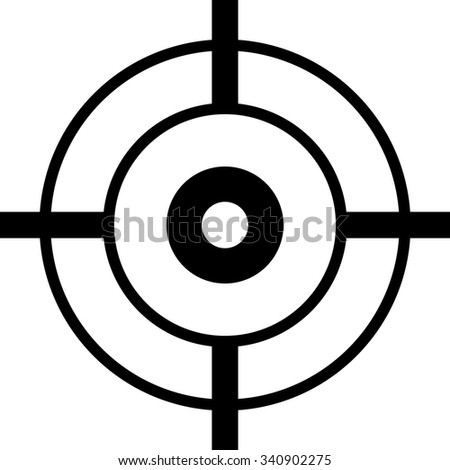 Shooting Targets Vector - stock vector