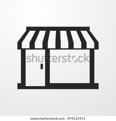Shop icon, Shop icon eps10, Shop icon vector, Shop icon eps, Shop icon jpg, Shop icon picture, Shop icon flat, Shop icon app, Shop icon web, Shop icon art, Shop icon, Shop icon object, Shop icon UI - stock vector