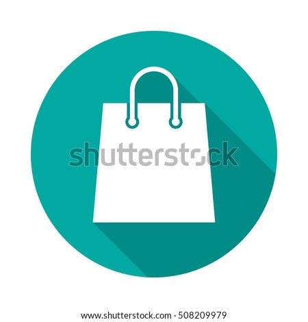 Vector Shopping Bag Icon Stock Vector 232158616 - Shutterstock