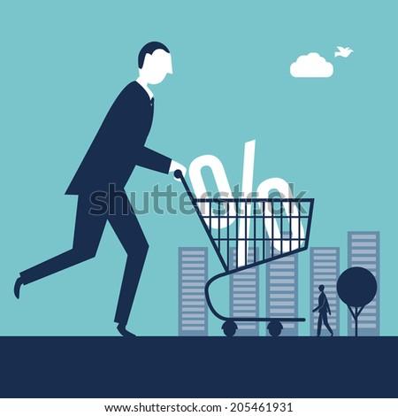 Shopping Cart - stock vector