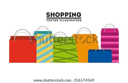 shopping concept design, vector illustration eps10 graphic