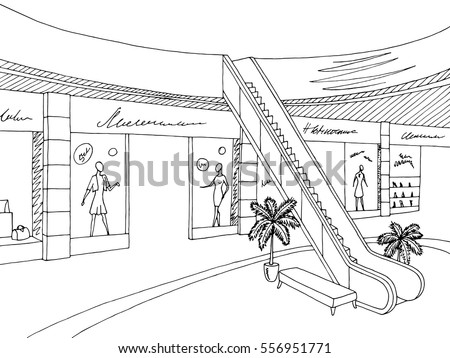 how to draw store layout