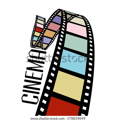 short film - stock vector