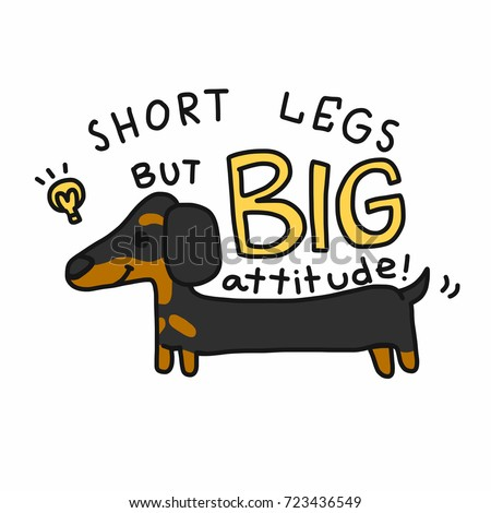 Cartoon Dachshund Stock Images Royalty Free Images Amp Vectors
