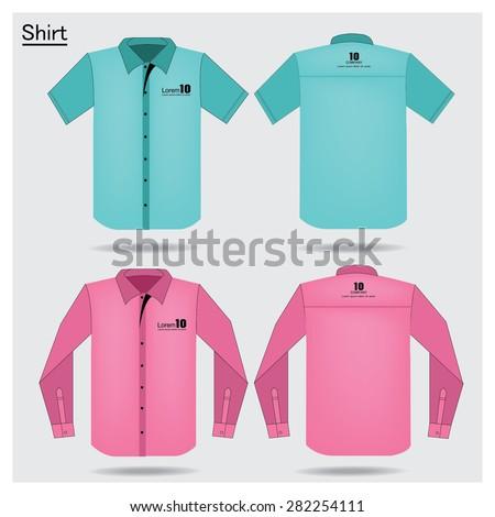 Short sleeve shirt stock images royalty free images for Short sleeve t shirts with longer sleeves