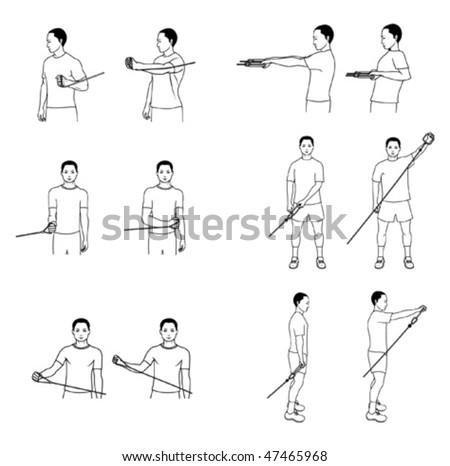 Upper extremity range of motion handouts elhouz