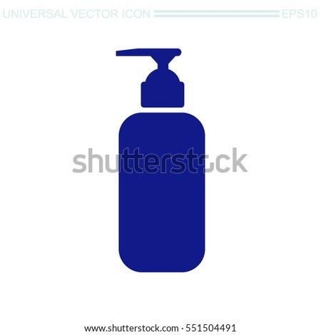 Shampoo Bottle Icon Stock Images, Royalty-Free Images ...