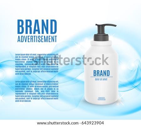 Shower gel marketing