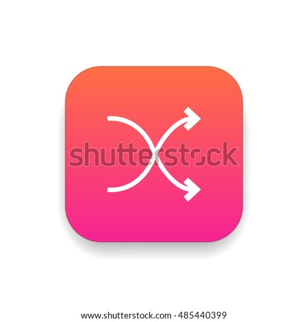 Shuffle Icon Stock Images, Royalty-Free Images & Vectors ...