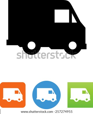 delivery truck icon vector - photo #17
