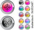 Sight multicolor glossy round web buttons. - stock photo