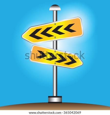 Sign Directions Support Help Tips Advice Guidance Assistance - stock vector