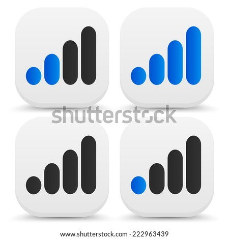 Signal graphics for wireless technology, transmitting concepts - stock vector