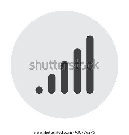 signal Icon, signal Icon Vector, signal Icon JPG, signal Icon JPEG, signal Icon EPS, signal Icon design - stock vector