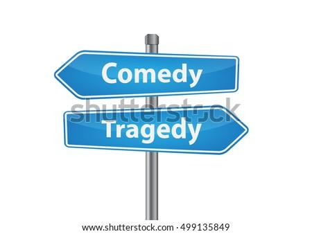 Antithesis comedy