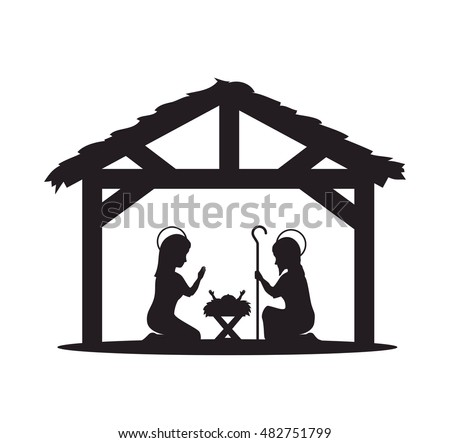 Nativity Silhouette Stock Images, Royalty-Free Images & Vectors ...
