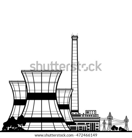 Electric Power Plant Clipart | www.pixshark.com - Images ...