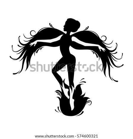 Svetlana ivanova 39 s portfolio on shutterstock for Fairy cut out template