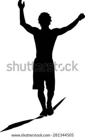 images of tight wire walker clip art wire diagram images silhouette of a slim boy walking on a slackline stock vector silhouette of a slim boy walking on a slackline stock vector
