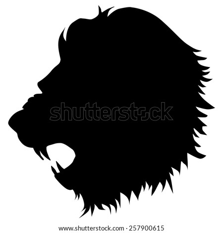 Lion Silhouette Stock Photos, Images, & Pictures ...