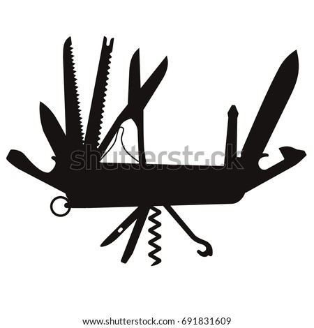 Screwdriver Silhouette Stock Images Royalty Free Images