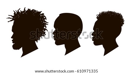 Afro Silhouette Stock Images, Royalty-Free Images ...