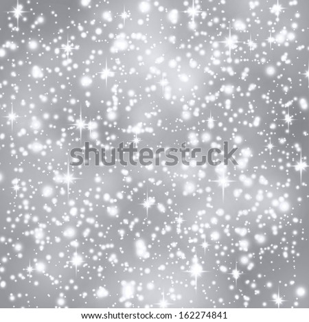 Silver abstract texture. Vector background.  - stock vector