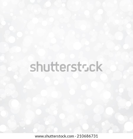 Silver and white abstract light background - stock vector