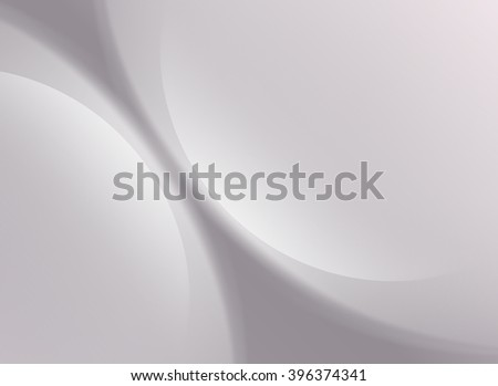 Silver Background Soft Light Cloud Waves Vector