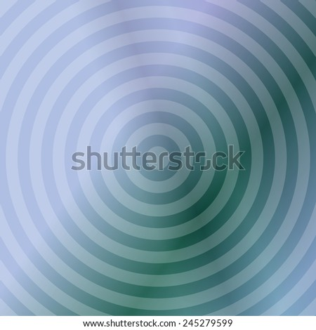Silver blue metallic background design with concentric circles - stock vector